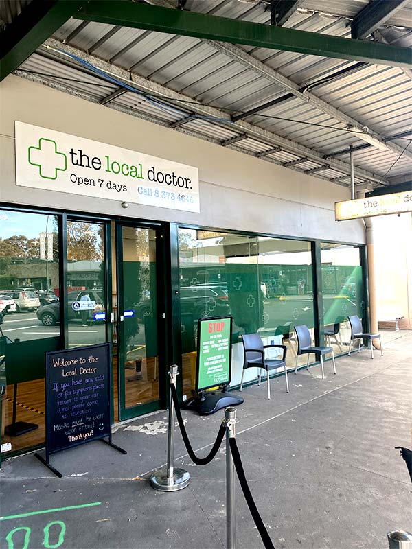 Exterior view of the Local Doctor Practice in Diamond Creek